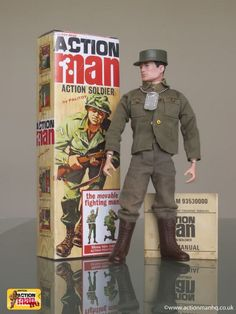 Meet the toy collector with the best collection of Action Man figures in Britain - Mirror Online 1970s Childhood, My Childhood Memories, Childhood Toys, Vintage Toys 1970s, Retro Toys, Gi Joe, Madame Alexander, Male Figure, Toy Soldiers