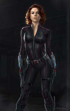 Scarlett Johansson as Black Widow Marvel Avengers, Marvel Comics, Marvel Women, Marvel Girls, Comics Girls, Marvel Heroes, Avengers Memes, Marvel Art, Black Widow Scarlett