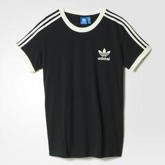 T-shirt 3 bandes - noir adidas   adidas France Marque Vetement Femme, Adidas b8ddb6e35801