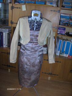 Kjole med bolero til mig selv :-)