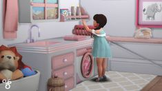 Lana CC Finds - viesilfinds: Toddlers laundring poses You need: ...
