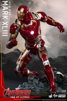 1/6 Hot Toys - MMS278D09 - Avengers: AoU - Iron Man Mark 43 Collectible Figure