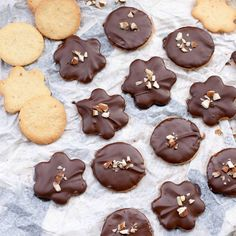 Mandelkakor_choklad4