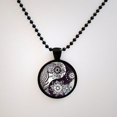 Yin Yang Zen Pendant  Yin Yang  Necklace  Yin by myPositiveVibes, $12.50