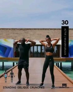 Add this full body exercise to your at home workout to build muscle and burn calories, no equipment required. Fitness Workouts, Full Body Hiit Workout, Gym Workout Videos, Fitness Workout For Women, Body Fitness, Butt Workout, Physical Fitness, Fitness Motivation, Athlete Workout