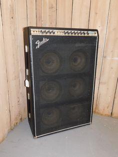 Vintage 1972 Fender Super Six Silverface Rare 6-Speaker Tube Amp NO RESERVE!!! | eBay