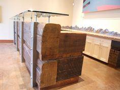 recalimed wood riverstone reception desk4