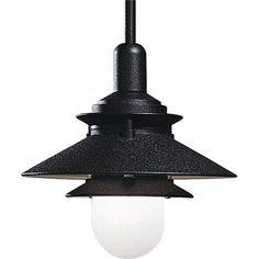 Progress Lighting - Black 1-light Pendant - 785247506620 - Home Depot Canada