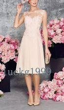 New Arrival Lace Applique Mother of the Brides Dresses Prom Party free Jacket