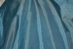 Sea Blue Tissue Taffeta Silk 100% Silk Fabric 44 Wide Corset fabric