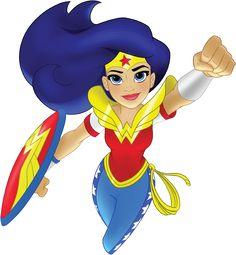 Wonder Woman. Official Profile art