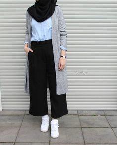 New fashion hijab style simple muslim ideas fashion style best fashion hijab casual chic ideas fashion Hijab Chic, Ootd Hijab, Hijab Elegante, Casual Hijab Outfit, Casual Hijab Styles, Casual Clothes, Today's Outfit, Casual Outfits, Modern Hijab Fashion