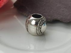 Silver Baseball Charm Gifts For Baseball Lovers, Baseball Gifts, Baseball Jewelry, Uk Shop, Charms, Unique Jewelry, Silver, Etsy, Costume Jewelry