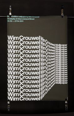 wim crouwel POSTER - Google Search