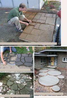 DIY avec du ciment Plus