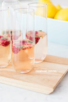 Champagne Cocktail | SMP Living