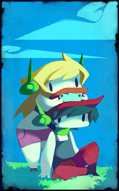 Sigh of Relief by nanokostudio.deviantart.com on @deviantART Cave Story, Kappa, Drawing Ideas, Videogames, Indie, Curly, Ideas For Drawing, Video Games, Gaming