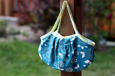 Beginner's Bias Tape Bag with Free Downloadable Pattern | Pretty Prudent