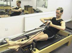 pilates reformer rowing