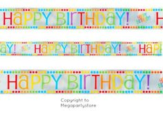 Huge Rainbow Foil Banner/Rainbow Party Decorations/Birthday Party Supplies!