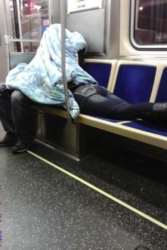 People who aren't as subtle as they think they are: | 26 Things You'll See On Public Transportation