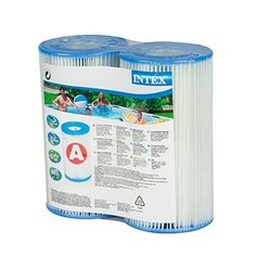 Intex Type A Filter Cartridge for Pools, Twin Pack, 2016 Amazon Top Rated Pools, Hot Tubs & Supplies  #Lawn&Patio