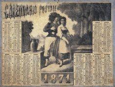 Calendario 1871