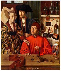Petrus Christus - Sant'Eligio e i fidanzati del 1449