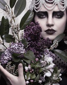 Blood On Snow, True Art, Dark Beauty, Amazing Photography, Fashion Beauty, Halloween Face Makeup, Photoshoot, Deviantart, Purple