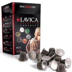 50 count Nespresso Compatible Assorted Lavica Espresso Single Serve Coffee Capsules (pods) Compatible with Nespresso Machines - http://thecoffeepod.biz/50-count-nespresso-compatible-assorted-lavica-espresso-single-serve-coffee-capsules-pods-compatible-with-nespresso-machines/