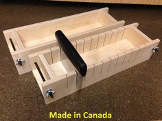 Wood Soap Mold Made in Canada by WoodSoapMolds on Etsy, $35.00