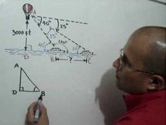 Problema con Ley de Senos: Julio Rios explica cómo resolver un problema usando la Ley de Senos
