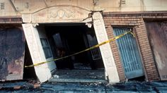 Retrofitting buildings to protect against collapse in the event of an earthquake.