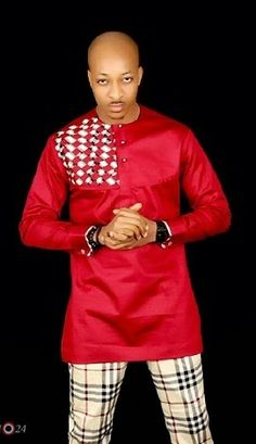 The actor/model — Ik Ogbonna, who was rumored to be gay several times has released hot new photos of himself dressed in native African outfits. His dressing was courtesy of Eljargo Couture. More photos below: – Latest African Men Fashion, African Wear Styles For Men, African Shirts For Men, African Dresses For Kids, Nigerian Men Fashion, African Clothing For Men, African Attire, African Outfits, Fashion Wear