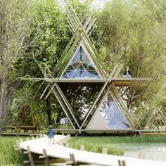 thenletitbe:  (via PINNED   HER NEW TRIBE   hernewtribe.com) / The Green Life <3 Tiny House Casa pequeña y ecológica
