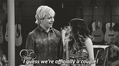 better together forever Disney Channel Shows, Disney Shows, Cute Celebrity Couples, Celebrity Dads, Cute Disney Pictures, Laura Marano, Austin And Ally, Birthday Boy Shirts, Ross Lynch