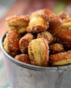 Garlic Parmesan Ranch Pretzels Recipe