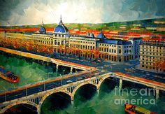 Hotel Dieu de Lyon II by EMONA Art of Fine Art America. She has an incomparable style and one I totally love.