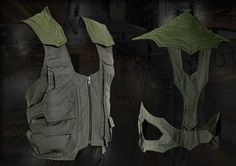 Awesome Sci-fi or Post Apocolyptic looking military vest