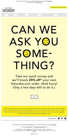 email survey design - Google Search