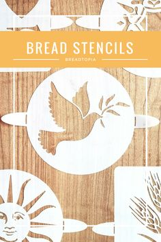 Enhance the beauty of your artisan loaf of bread, pie, or cake with a stunning decoration using our exclusive bread stencils. Made of a mylar material, our stencils are stiff enough to be durable, yet flexible enough to curve over your ready-to-be-baked loaf. Lightly dampen the stencil design area with water, lay the stencil gently over your risen loaf and sprinkle with flour or cocoa powder before lifting the stencil away and baking. Easy to use, clean, and store. Made with fold-up tabs on…