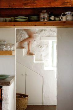 simple Stylish Stone Cottage 5 interiors