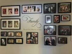 This is my photo wall in hall way