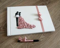 HandMade-owo: Papierowa tradycyjna księga gości weselnych *Traditional wedding guest book