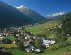 St. Anton am Arlberg, Austria- looks so different without the snow!!