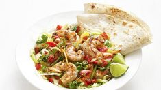 Try this delicious low-carb version of shrimp fajitas.