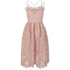PERSEVERANCE LONDON Baroque Lace Dress