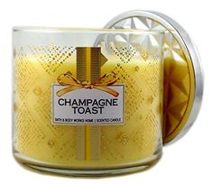 Champagne Toast Birthday Wishes Best Candles Bath And Body Works Scented Winter Holidays Vacations Greetings Happy