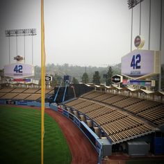 Beautiful morning at #dodger stadium @Lea Colombo Anne Warner Bros. Pictures #42movie #jackierobinson pic.twitter.com/GT0nNNCROZ
