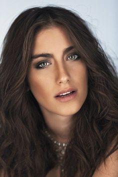 Turkish Actress: Hazal Kaya Makeup in a photoshot.